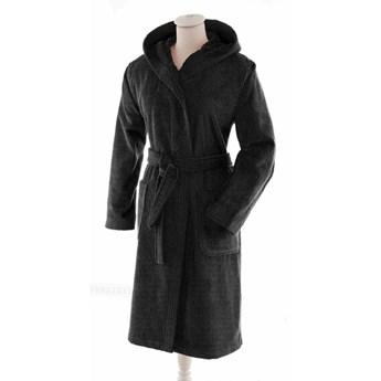Szlafrok bawełniany Essix Aqua Hooded Noir