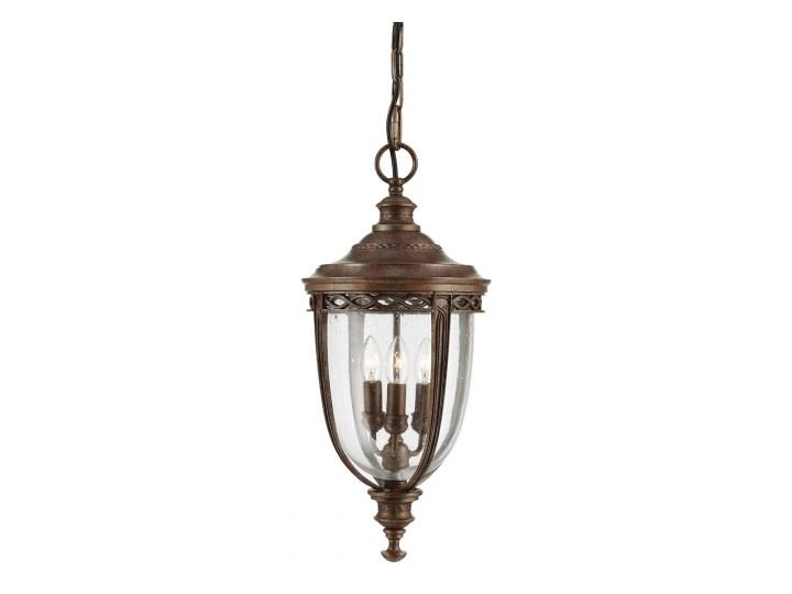 English Bridle British Bronze Ogrodowa Elstead FE/EB8/L BRB 27cm brązowy Lampa wisząca Kategoria Lampy ogrodowe
