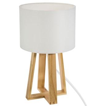 Lampka stołowa MOLU, 35 cm, kolor biały