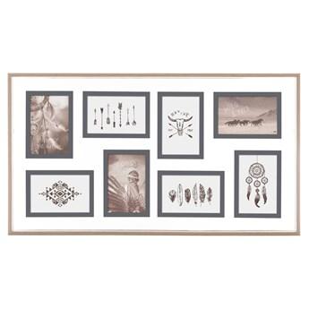 Multiramka na zdjęcia 10 x 15 cm, galeria w drewnianej oprawie