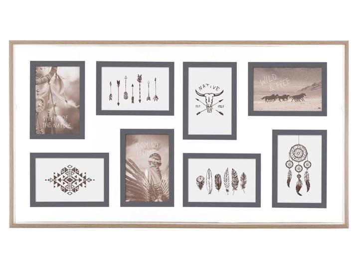 Multiramka na zdjęcia 10 x 15 cm, galeria w drewnianej oprawie Drewno Pomieszczenie Sypialnia