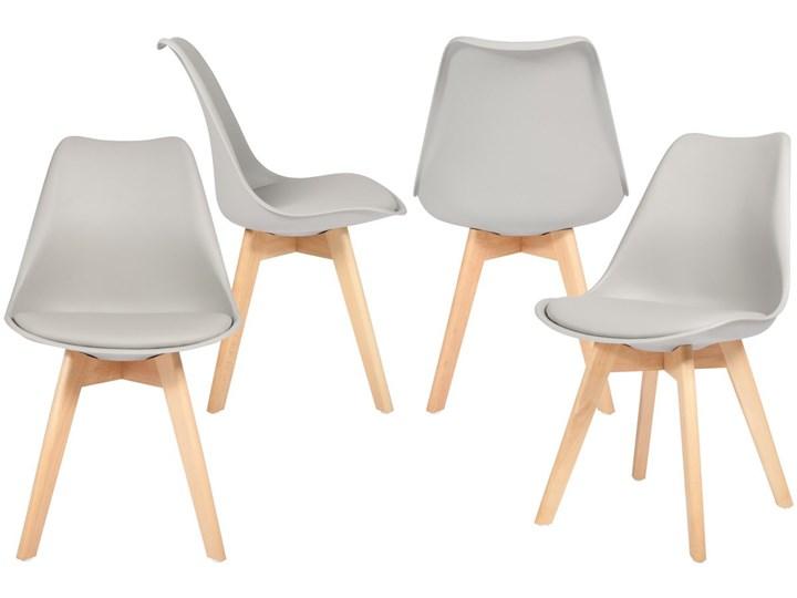 Krzeslo Do Jadalni Bolonia Szare 4 Szt Uniw Krzesla Kuchenne