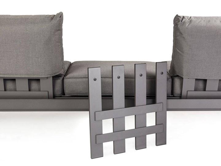Meble ogrodowe PARMA antracyt Kategoria Zestawy mebli ogrodowych Aluminium Kolor Szary