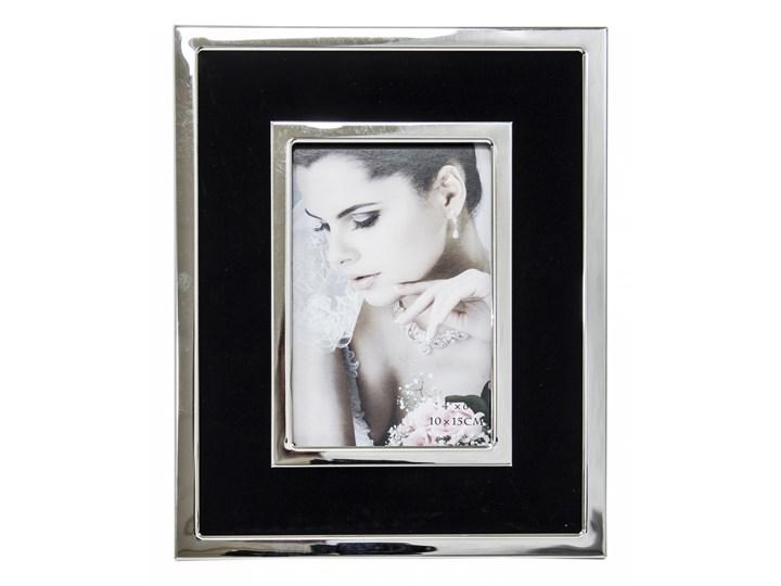 Elegancka ramka na zdjęcia Drofte 24,5x19,5 cm Metal Kategoria Ramy i ramki na zdjęcia Kolor Szary
