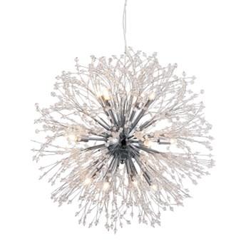 FLASH żyrandol 9 x 25W 25W LED nowoczesny kryształowy glamour lampa wisząca MILAGRO ML3702