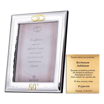 Prezent na ślub ramka na zdjęcie ślubna