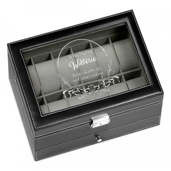Szkatułka na Zegarki i Biżuterię GRAWER Piękna