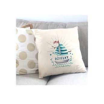 Poduszka personalizowana z nadrukiem ODWAŻNY