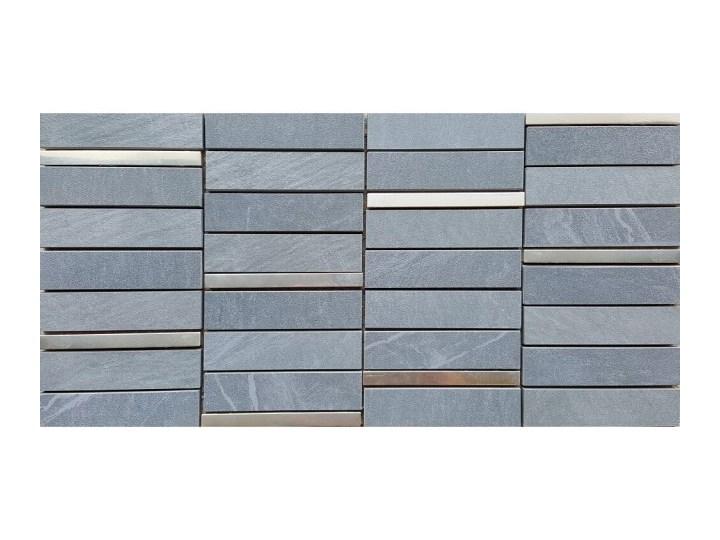 Gres Szkliwiony Yakara Szary Mozaika Mat 222x446 Gat I