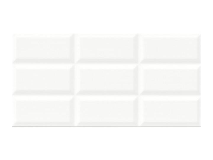Płytka ścienna NARIS white structure glossy 29,7x60 gat. II