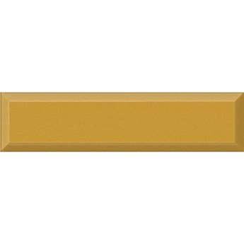 Płytka ścienna listwa szklana ART MOSAIC ingot 3D gold 14,7x60 gat. I