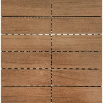 Gres szkliwiony mozaika NATURALE orange mat 29,7x29,7 gat. I