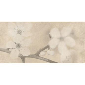 Gres szkliwiony inserto EARLY PASTELS beige flower mat 29x59,3 gat. I
