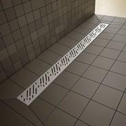 Radaway prostokątna płyta prysznicowa z odpływem liniowym na dłuższym boku Rain 109x89cm 5DLA1109B, 5R085R, 5SL1 __DARMOWA DOSTAWA__