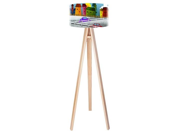Lampa podłogowa MACODESIGN Bajkowa uliczka tripod-foto-067p, 60 W Tworzywo sztuczne Tworzywo sztuczne Tworzywo sztuczne