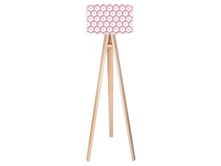 Lampa podłogowa MACODESIGN Dziewczęce kwiatuszki tripod-foto-248p, 60 W Lampa LED Tworzywo sztuczne Tworzywo sztuczne Tworzywo sztuczne