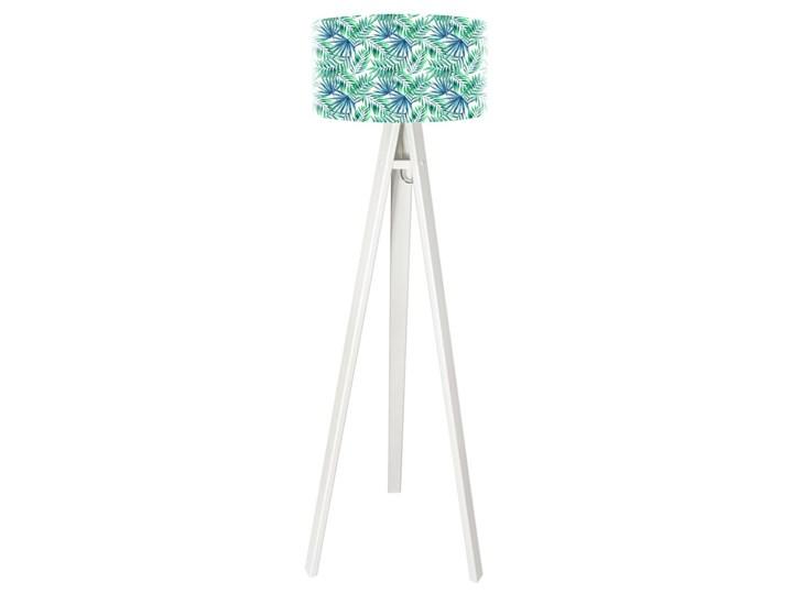 Lampa podłogowa MACODESIGN Egzotyczne liście tripod-foto-412p-w, 60 W Tworzywo sztuczne Drewno Lampa LED Drewno Drewno Tworzywo sztuczne Tworzywo sztuczne