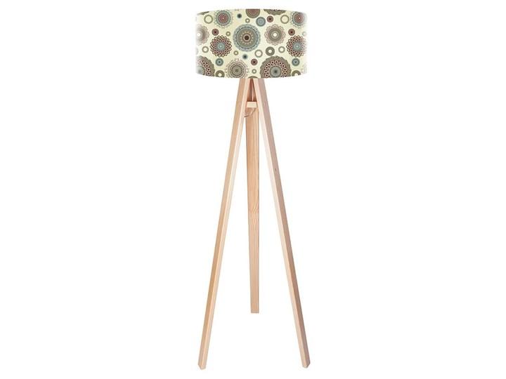 Lampa podłogowa MACODESIGN Etno aspiracja tripod-foto-024p, 60 W Lampa LED Tworzywo sztuczne Tworzywo sztuczne Tworzywo sztuczne