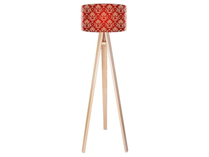 Lampa podłogowa MACODESIGN Klasyczny deseń tripod-foto-182p, 60 W Tworzywo sztuczne Tworzywo sztuczne Tworzywo sztuczne