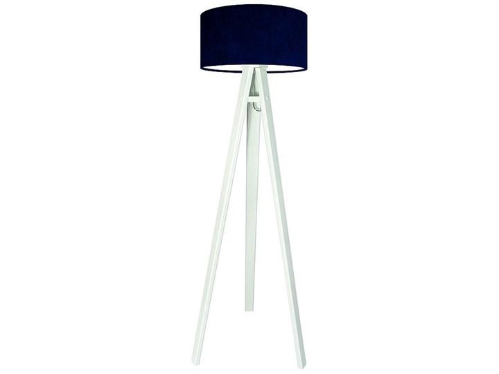 Lampa podłogowa MACODESIGN Lobelia 010p-042w, biała, 60 W Tkanina Tworzywo sztuczne Lampa LED Tkanina Drewno Tworzywo sztuczne Drewno Drewno Tkanina Tworzywo sztuczne