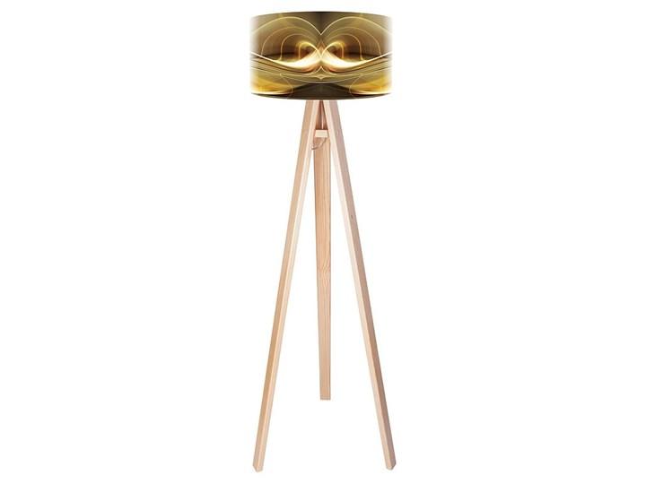 Lampa podłogowa MACODESIGN Magia złota tripod-foto-042p, 60 W Tworzywo sztuczne Tworzywo sztuczne Tworzywo sztuczne