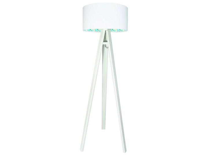 Lampa podłogowa MACODESIGN Miś polarny 030p-266w, 60 W Tworzywo sztuczne Lampa LED Tkanina Drewno Tworzywo sztuczne Drewno Tkanina Drewno Tkanina Tworzywo sztuczne