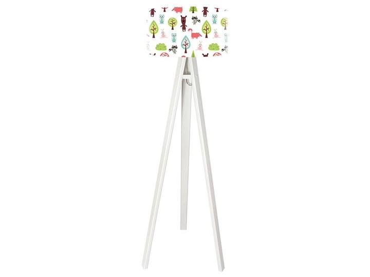 Lampa podłogowa MACODESIGN Święto lasu tripod-foto-275p-w, 60 W Tworzywo sztuczne Lampa LED Tworzywo sztuczne Tworzywo sztuczne
