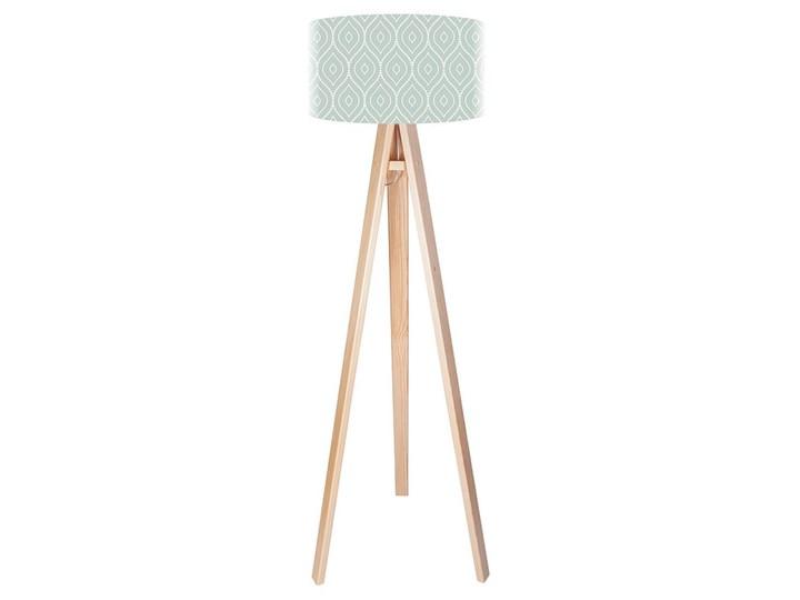 Lampa podłogowa MACODESIGN Turkusowy sewterek tripod-foto-198p, 60 W Tworzywo sztuczne Lampa LED Tworzywo sztuczne Tworzywo sztuczne