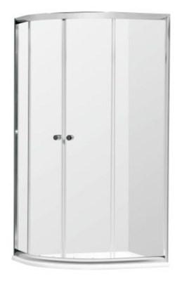 kabina natryskowa actima seria 200 asymetryczna 80x100