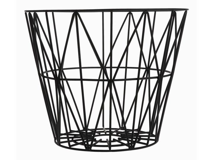 Kosz Ferm Living Wire 3060 - mały - czarny