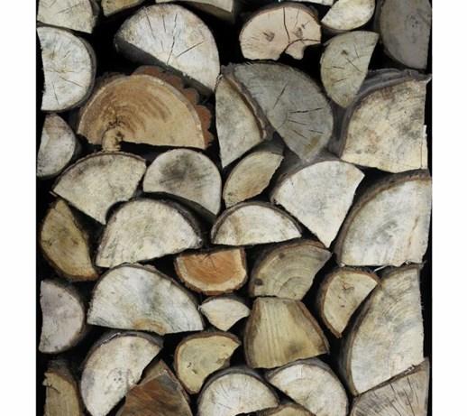 Tapeta Karlie Klum Logs W Drewno Kominkowe Klej Gratis