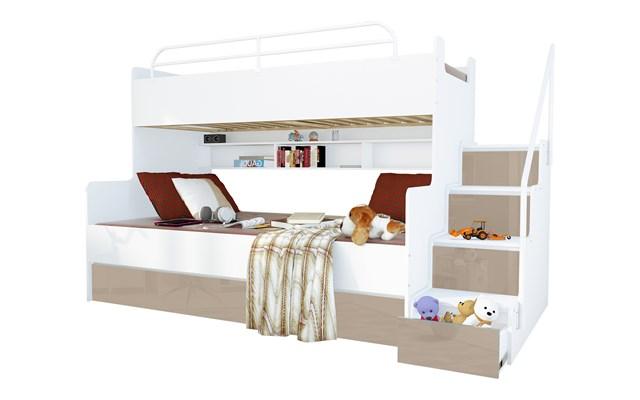 Nowoczesne łóżka Piętrowe Projekty I Wystrój Wnętrz
