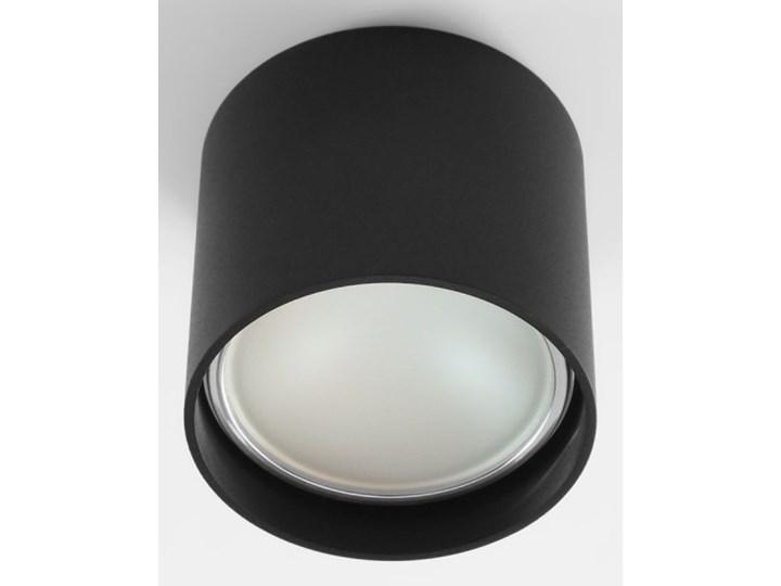 Oprawa natynkowa okrągła GU10 ES AR111 stała czarna aluminiowa do domu Oprawa stropowa Okrągłe Oprawa halogenowa Kolor Czarny Kategoria Oprawy oświetleniowe
