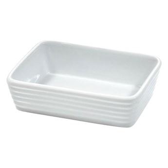 Małe naczynie do zapiekania 14x3,5cm Kuchenprofi Burgund białe kod: KU-0750118212