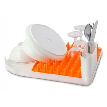 Ociekacz na naczynia Colori pomarańczowy 24014 kod: 24014