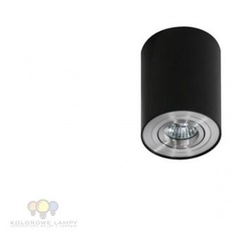 AZ0779 Lampa Bross 1 GM4100 BK/ALU Czarna AZZARDO natynkowa plafon GU10
