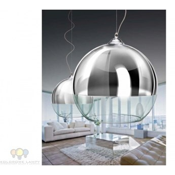 AZ0734 Azzardo Silver Ball 40 AZ0734-XL (LP-5034XL) lampa wisząca  zapytaj ile mamy od ręki