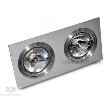 AZ0770 Lampa techniczna Siro 2 Aluminium GM2200 ALU AZZARDO -