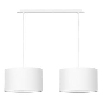 PORTO 2 WH WHITE / WHITE 489/2A lampa wisząca duże abażury regulowana wysokość kolory