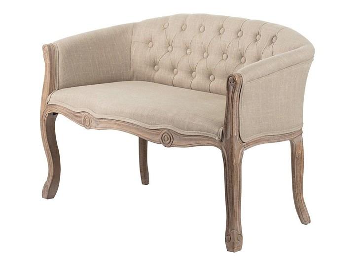 Ławka Cassandra 106 x 56 x 70,5 cm, 106 x 56 x 70,5 cm Pikowana Z oparciem Pomieszczenie Garderoba