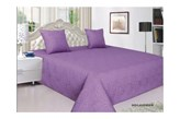 Fioletowa narzuta na łóżko Vigo Lawender 220x240 dwustronna