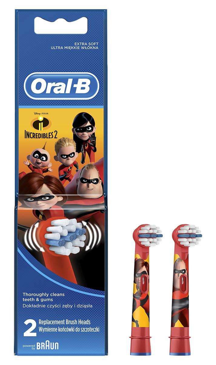 Końcówki Do Szczoteczki Elektrycznej Oral B Dzieci Końcówki Do