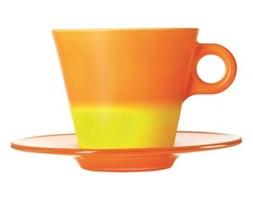 Filiżanka + spodek pomarańczowa Leonardo Ooh! Magico L-012270 + Transport juz od 8,90 zł