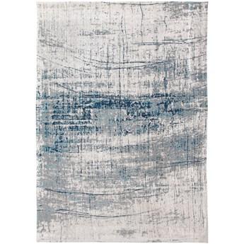 Dywan Nowoczesny Biało Niebieski - BRONX AZURITE 8421