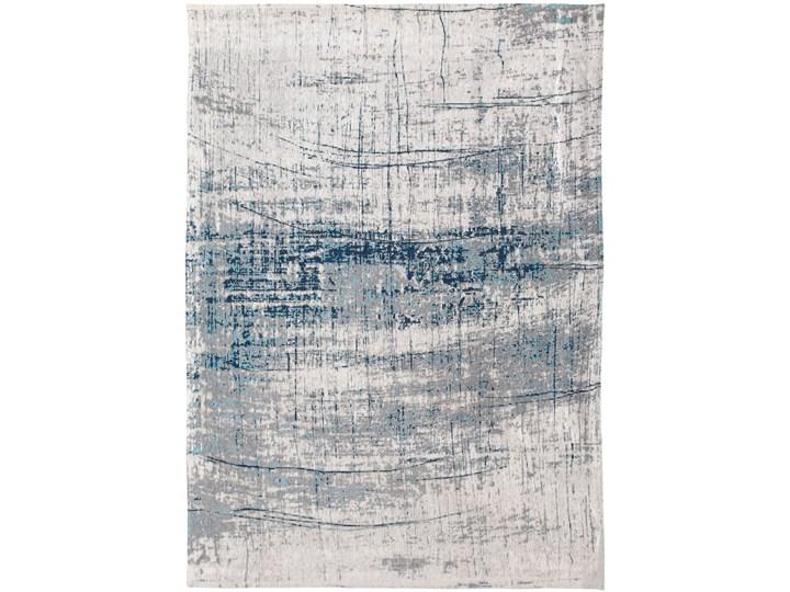 Dywan Nowoczesny Biało Niebieski - BRONX AZURITE 8421 Bawełna Dywany Prostokątny Pomieszczenie Salon Poliester Kategoria Dywany