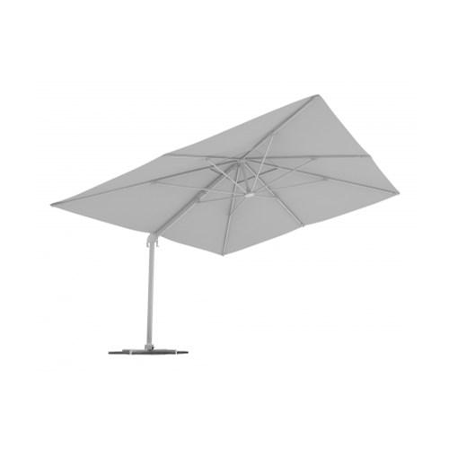 Parasol Na Wysięgniku, Prostokątny, 4x3 m, Biały