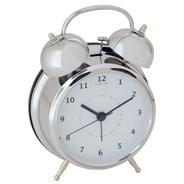 Budzik Nextime Wake Up 12 cm silver | sprawdź rabaty i warunki bezpłatnej dostawy