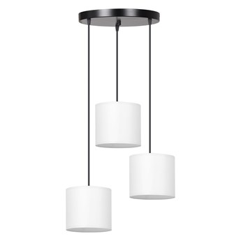 BERYL 3 PREMIUM BL WHITE 995/3PREM lampa wisząca abażury różne kolory