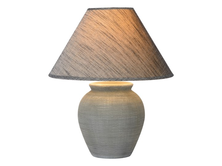 Lucide 47507/81/36 - Lampa stołowa RAMZI 1xE27/40W/230V 42cm Kolor Beżowy Wysokość 42 cm Lampa nocna Kategoria Lampy stołowe
