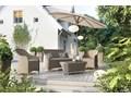 Meble ogrodowe LEONARDO royal piaskowe Zestawy wypoczynkowe Aluminium Tworzywo sztuczne Technorattan Zawartość zestawu Fotele Rattan Kategoria Zestawy mebli ogrodowych